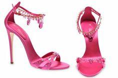 Shoes by Guiseppe Zanotti.