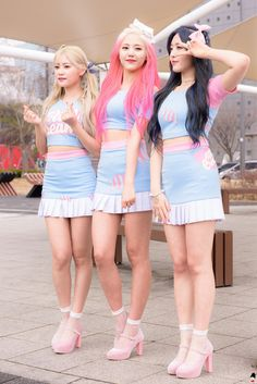 AOA CREAM = Yuna + Hyejeong + Chanmi