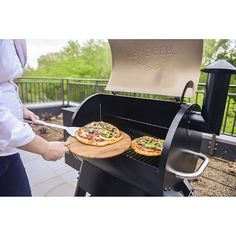We love heating up the grill for wood-fired pizza any night of the week. What toppings do you add for the best backyard pizza?