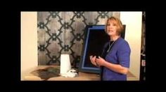 royal design studio. how to use metallic foil for faux finihses, part 1 - YouTube
