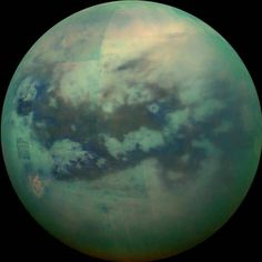 Stunning Pictures of the Mysterious Saturn's Moon Titan – Fubiz Media
