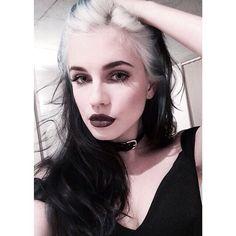 Classic smokey dark blended eye makeup color, colorful eyeshadow, black eyeliner wing, eyebrow shape/ brows, highlights/ lowlights contour, airbrush effect, lips, deep brown lipstick tone
