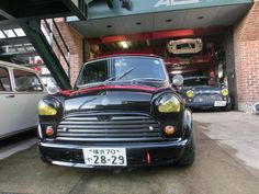 Very angry looking Mini in Japan - Don't mess with me >:|