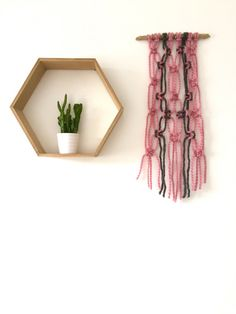 Macrame Boho Wall Hanging - Home Decor