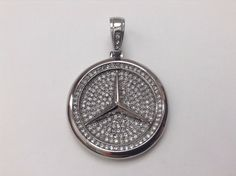 Nice Amazing Stainless Steel Mercedes Benz pendant charm chain necklace Tupac Migos BMW Audi 2017 2018
