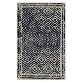 Found it at Wayfair - Atlas Sapphire Blue/Ivory Area Rug