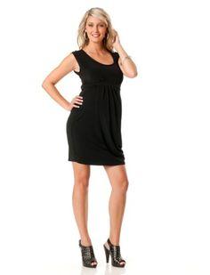 Motherhood Maternity: Sleeveless Pleated Maternity Dress $24.99