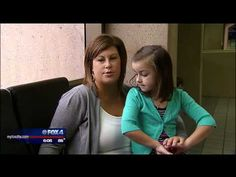 Children's Cancer Patient Sydney Lobbies at Capitol Hill - YouTube