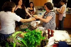 In Erika's Kitchen: How to cook for 100 people