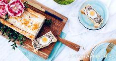 Ciasto francuskie z farszem mięsnym i jajami | Ania Starmach Dairy, Bread, Cheese, Food, Brot, Essen, Baking, Meals, Breads