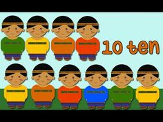 10 little indians - Counting Song