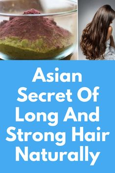Asian Hair Growth Treatment - Leave this mask for 2 hours on your scalp and your hair will grow like never before Caramel Balayage, Caramel Hair, Asian Hair Growth, Hair Growth Treatment, Strong Hair, Super Hair, Quick Hairstyles, Fall Hair, Purple Hair