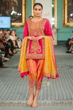 Pakistani Fancy Dresses, Fancy Wedding Dresses, Designer Party Wear Dresses, Indian Dresses, Shalwar Kameez, Sharara, Indian Designer Wear, Ethnic Fashion, Breakup Quotes