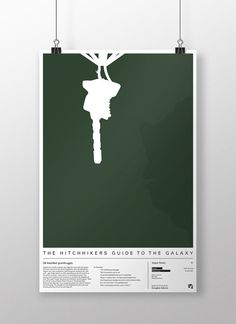 Hitchhiker's Guide To The Galaxy Poster Print by EloquentOtter