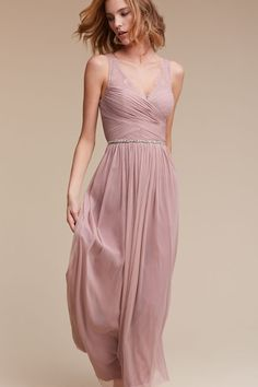 Rose Quartz Fleur Dress | BHLDN