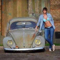 Volkswagen – One Stop Classic Car News & Tips Volkswagen Bus, Vw T1, Vw Camper, Kdf Wagen, Hot Vw, Bus Girl, Vw Vintage, Vw Cars, Buggy