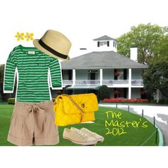 Master's Golf tournament outfit