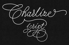 Check out Charlize script font (30% off) by Leitmotif on Creative Market