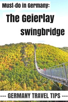 A true must-do in Germany: the Geierlay swingbridge! Free of charge and beautifully located in the hills of the Hunsrück region, this is a perfect way to spend your day for adventurers, families and anyone else who loves to be outside. Read my blog and learn all you need to know about this beautiful place! #hunsück #geierlay #germany Germany हमारे ब्लॉग का उपयोग अधिक जानकारी https://storelatina.com/germany/travelling #Alemanha