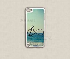 iPod Touch 6th Generation cases with infinity signs | Ipod Touch 4 Case, Ipod Touch 5 Cover - Best Infinity Anchor Cute ...