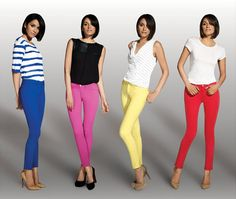 Coloured Jeans Trend