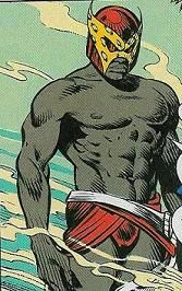 Freedom Beast, DC Comics; South African by birth, Dominic Mndawe's first appearance was in Animal Man #13. That issue takes place during the rule of apartheid in South Africa; Dominic was arrested for taking photos of racially motivated acts of violence committed by white Afrikaner policemen. Was about to be killed by his captors when he is rescued by Animal Man B'wana Beast. His powers include mind control the ability to fuse 2 or more animals into one hybrid beast.