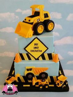 Baby Under Construction by Cakes ROCK!!!