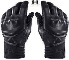 Black Under Armour Hard Knuckle Tactical Glove - UA TAC Performance Gloves