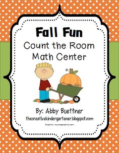 Great addition to your fall math centers