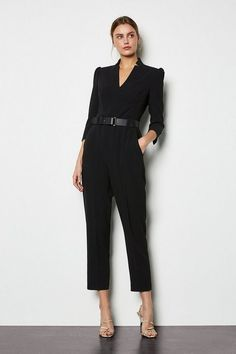 This season it's all about jumpsuits. From wide-leg to sequin styles, you'll discover jumpsuits for every occasion at Karen Millen. Celebrity Fashion Outfits, Teen Girl Fashion, Cute Fashion, Celebrities Fashion, Celebrity Style, Sequin Jumpsuit, Couture Week, Spring Couture, Formal Looks