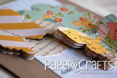 Stacked paper butterfly tutorial by @Teri Anderson