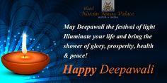 Happy Deepawali from #HotelNarainNiwasPalace Family....