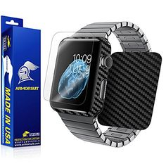 ArmorSuit MilitaryShield for Apple Watch 42mm, Full Screen and Body Protector – Retail Packaging