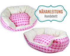 Nähanleitungen Wohnen - Nähanleitung ovales Hundebett / Katzenbett nähen - ein Designerstück von mrs_b bei DaWanda