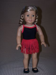 18 Inch Doll Clothes: Dance Leotard & Tutu for American Girl by ICImagination on Etsy