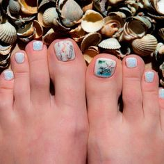 Trendy Sea Nail Designs For Toes ❤ 30+ Incredible Toe Nail Designs for Your Perfect Feet ❤ See more ideas on our blog!! #naildesignsjournal #nails #nailart #naildesigns #toes #toenails #toenaildesigns #pedicure Pretty Nail Designs, Toe Nail Designs, Black Stiletto Nails, Toe Nails, Best Armor, Pretty Nails, Acrylic Nails, Nail Polish, Nail Art