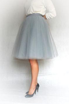 Petticoat & Unterrock - der Tüllrock - ein Designerstück von MatMari bei DaWanda