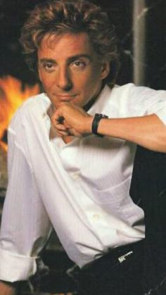 Barry Manilow Because It's Christmas CD cover photo.
