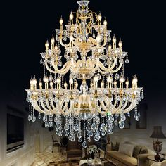 The Inbetween (jazz pitch rough by Christina masden Crystal Chandelier Lighting, Foyer Lighting, Large Chandeliers, Luxury Lighting, Pendant Chandelier, Champagne, Wedding Decorations, Ceiling Lights, Pavilion