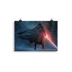 Nouveau! Poster Star Wars ..., disponible sur notre boutique: http://my-pop-culture.myshopify.com/products/poster-star-wars-kylo-ren?utm_campaign=social_autopilot&utm_source=pin&utm_medium=pin