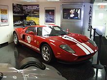 Another red Ford GT
