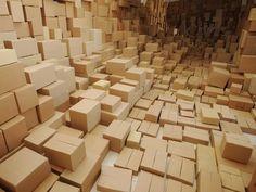 """Cardboard Boxes"" by Margareta Lekic"