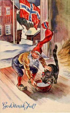 Oleanna - thewaynorth: God Norsk Jul! Christmas card...