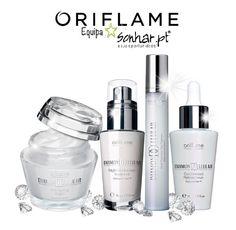 Diamond Cellular  -     Anti-idade, para todos os tipos de pele, 40 +  O elixir Diamond é formado por ingredientes luxuosos e ativos que dão á pele um brilho saudável.  Ajuda a desclorar as manchas escuras e a atenuar o aspeto de pele espessa.  O