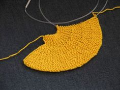 Knitted Circle , Knitting How tos: knitted circles