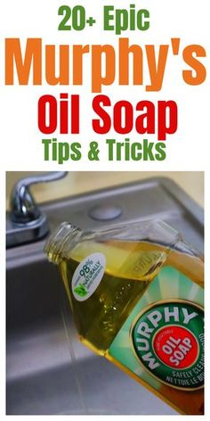 Epic Murphy's Oil Soap Tips And Tricks Hacks for using Murph. - Epic Murphy's Oil Soap Tips And Tricks Hacks for using Murphy's Oil Soap ar - Diy Home Cleaning, Homemade Cleaning Products, Deep Cleaning Tips, Household Cleaning Tips, Cleaning Recipes, Green Cleaning, House Cleaning Tips, Natural Cleaning Products, Cleaning Hacks