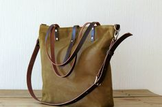 Handmade Canvas Bag
