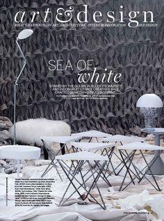 Vogue Living - June 2014 - Sea Art Exhibition
