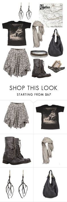 """""""Coma"""" by winterreise ❤ liked on Polyvore featuring AllSaints, Actual Pain, Annette Ferdinandsen, Tom Rebl, Bullet, coma, black, depressive, vandering and dark"""