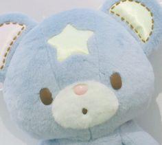 Blue bear star stuffed animal